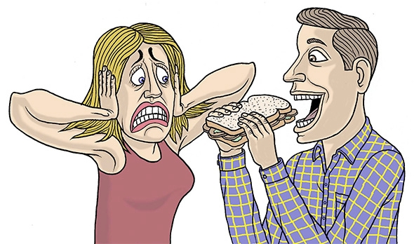Getting Annoyed By Chewing Noises Is A Genuine Psychiatric Disorder