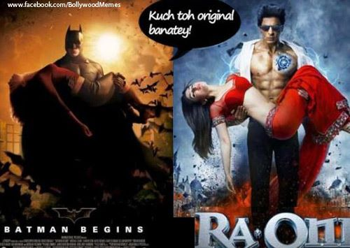 403800 165634763557774 252694250 n1 - Some Bollywood movies posters that were copied from Hollywood