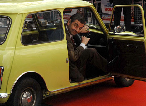 MrBeanCarAlanD 468x338 - 10 Things You Might Not Know About Mr Bean