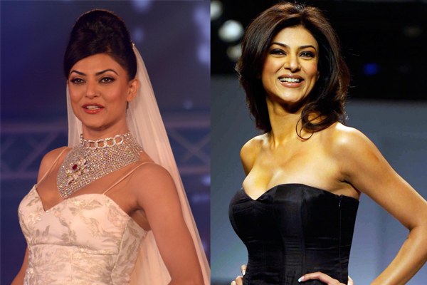 sushmita sen plastic surgery - 10 Bollywood Actresses You Never Knew Had Breast Implants