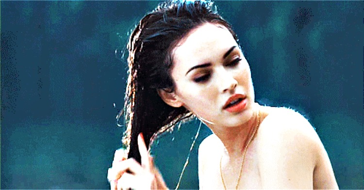 wet hair megan fox fb - 10 Ridiculous Myths About Your Hair Which Are Not True