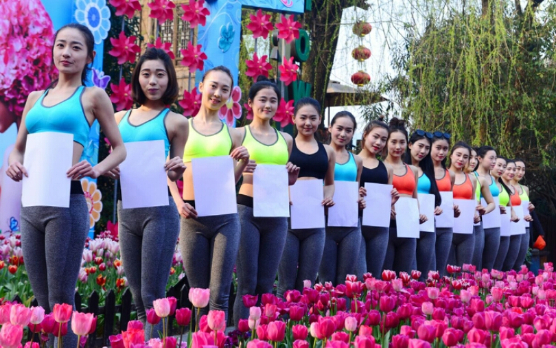 In China, Women Are Putting Themselves Through The A4 Waist Challenge