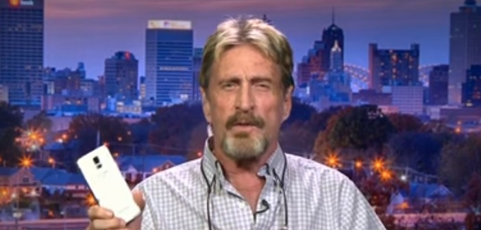 john mcafee - John McAfee reveals on national television how to crack an iPhone