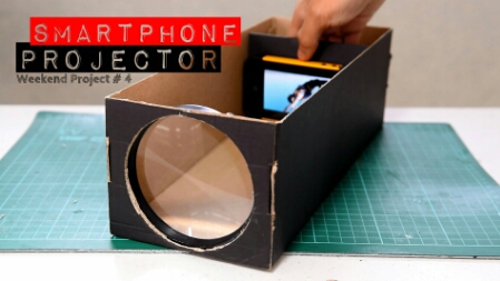 maxresdefault 1 - Turn A Shoe Box Into A Smartphone Projector!