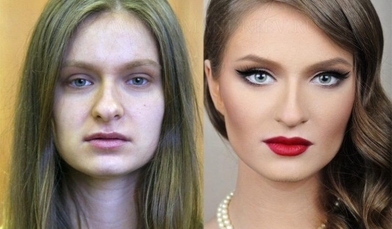 These 10 Photos Illustrate How You Can Lie With Makeup