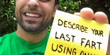 Challenge Describe Your Last Fart Using Only A Movie Title 574d3f4cc8386 360x180 - Comedian Ray William Johnson invites people to describe their last farts using only a movie title and the results were hilarious.