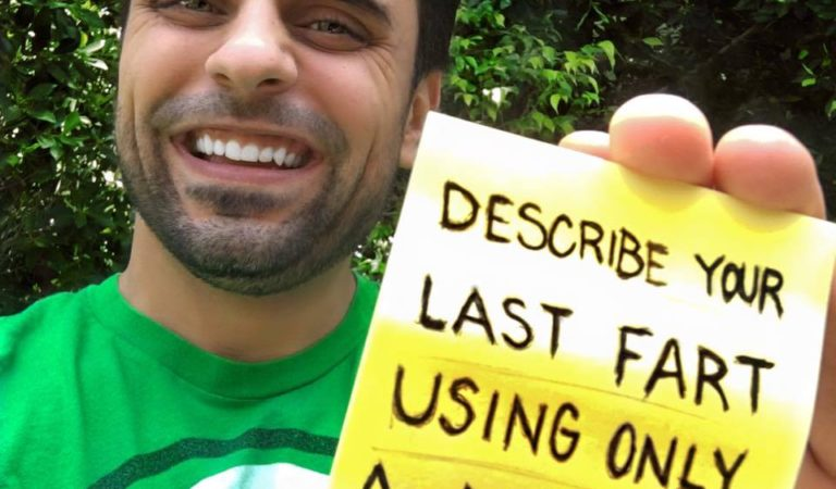 Comedian Ray William Johnson invites people to describe their last farts using only a movie title and the results were hilarious.