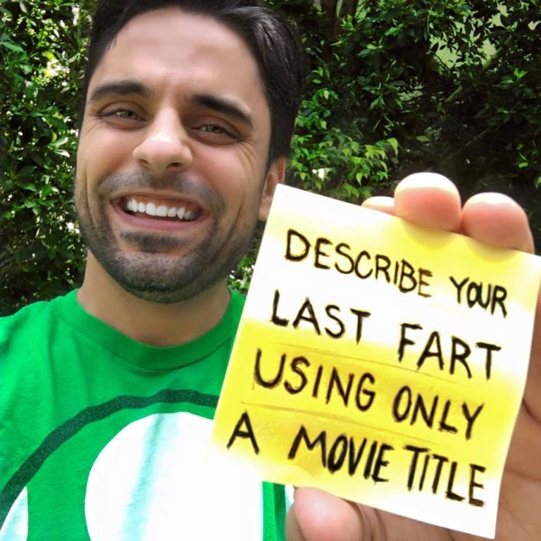 Challenge Describe Your Last Fart Using Only A Movie Title 574d3f4cc8386 768x768 - Comedian Ray William Johnson invites people to describe their last farts using only a movie title and the results were hilarious.