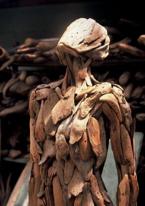 1486541935 843 haunting driftwood sculptures by japanese artist nagato iwasaki - Japanese Artist Nagato Iwasaki Creates Amazing Driftwood Sculptures That Will Scare You