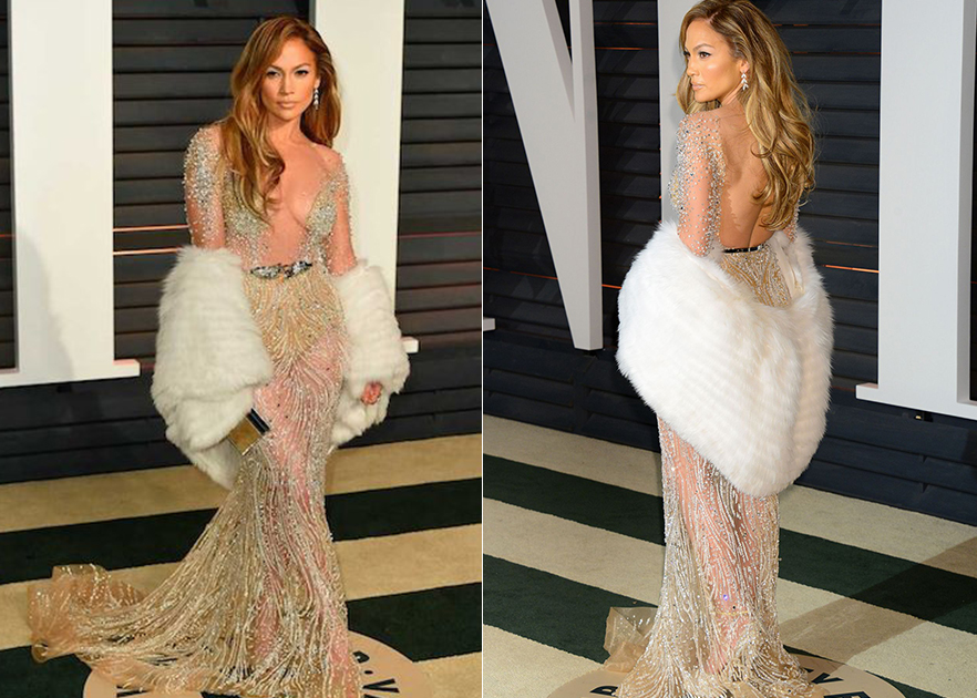 See through Naked dresses worn by celebrities