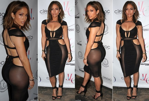 lo1 - 10+ Most Daring And Hot See Through Dresses Worn By Celebrities