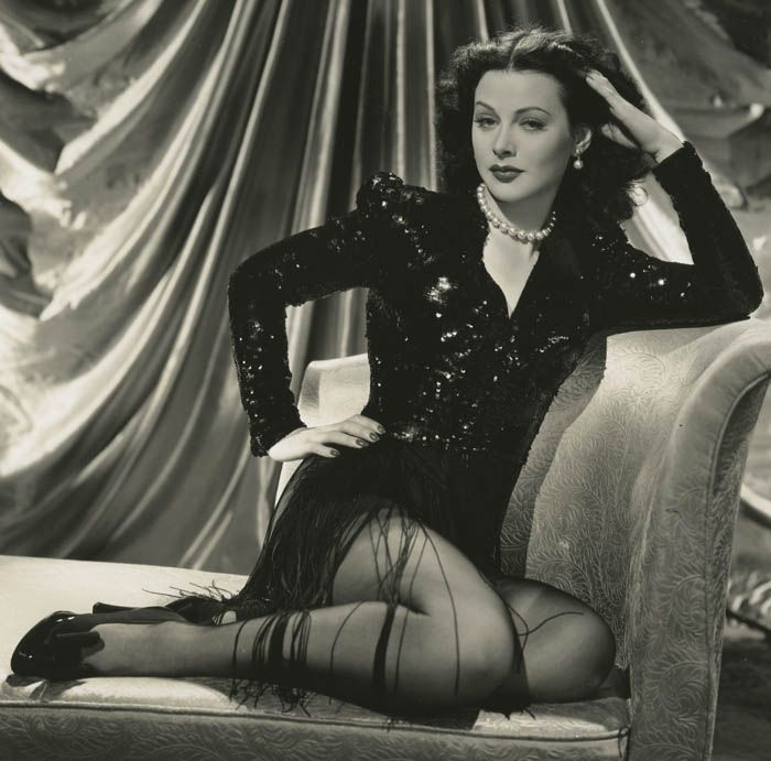 b43d409608ae3462c36addba9c634cb2 vintage hollywood hollywood glamour - Modern WiFi And Bluetooth Was Invented in 1941 By A Hollywood Actress, Hedy Lamarr