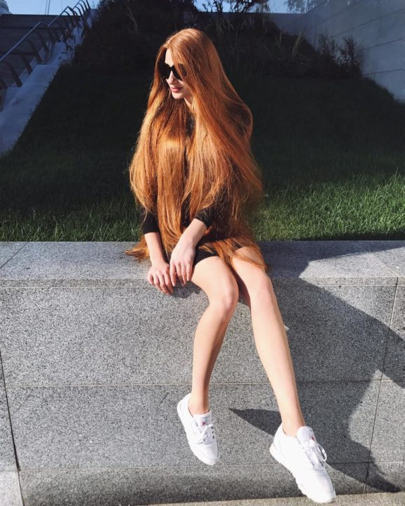 21911494 693125130882658 7339828551694155776 n - Meet The Beautiful Real Life Redhead Rapunzel Anastasia Sidorov