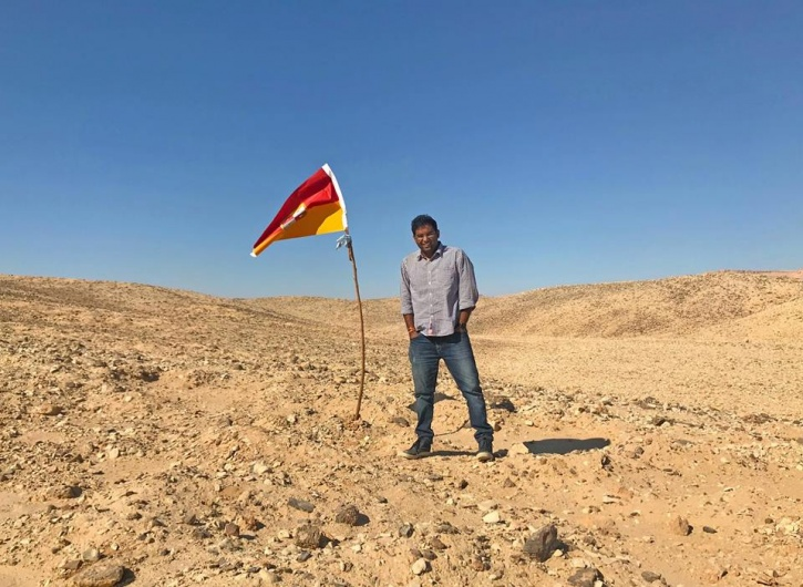 2 1510637160 725x725 - Indian Man Claimed No Man's Land As His Own Country