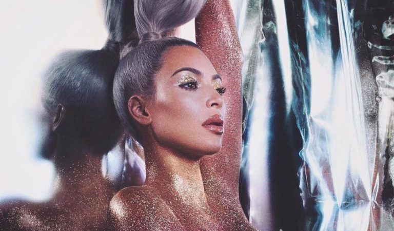 Kim Kardashian Breaks The Internet Again With Her Jaw-Dropping Nude Photoshoot.