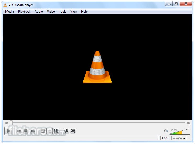 vlc screenshot 01 - The Surprising Reason Why VLC Media Player Uses A traffic Cone As Its logo