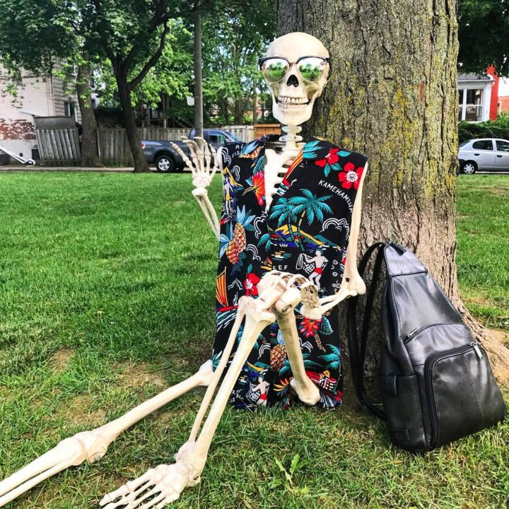 19761907 472944673056959 1721113701836128256 n 720x720 - Meet Skellie: A Skeleton That Mocks Instagram Girls Photos And Its Damn Hilarious