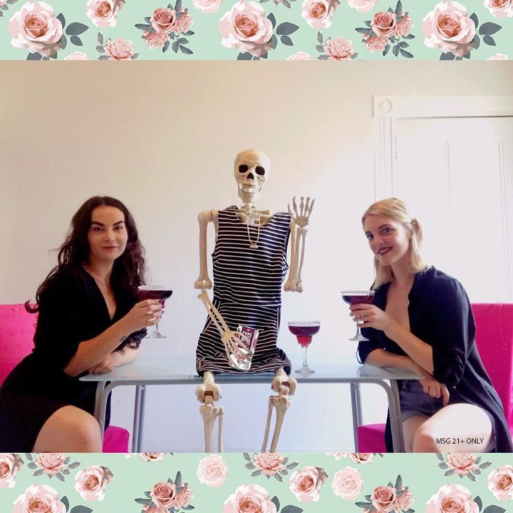 22069752 154046341857751 8850884946500255744 n 720x720 - Meet Skellie: A Skeleton That Mocks Instagram Girls Photos And Its Damn Hilarious