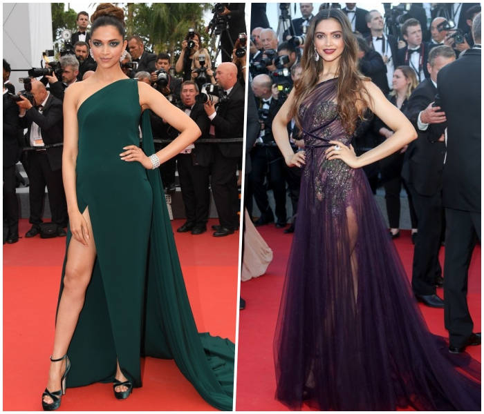 Deepika Padukone Cannes 2017 red carpet pictures - Deepika Padukone Sexiest Looks At The Cannes Film Festival 2018