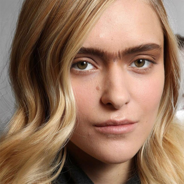 Monobrow5 - Model Shows Her Unibrow On Instagram-Starts The Weird 'Unibrow Movement' On Instagram