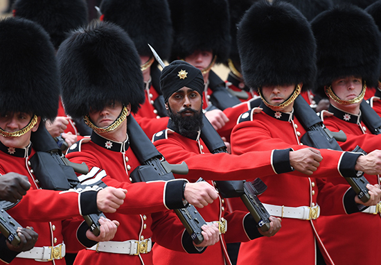 TroopingThecolour2018 - First Soldier To Wear Turban Instead Of Bearskin Hat During March Is 'Hoping To Change History'