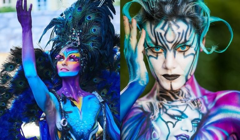 Spectacular Artwork From The World Bodypainting Festival 2018