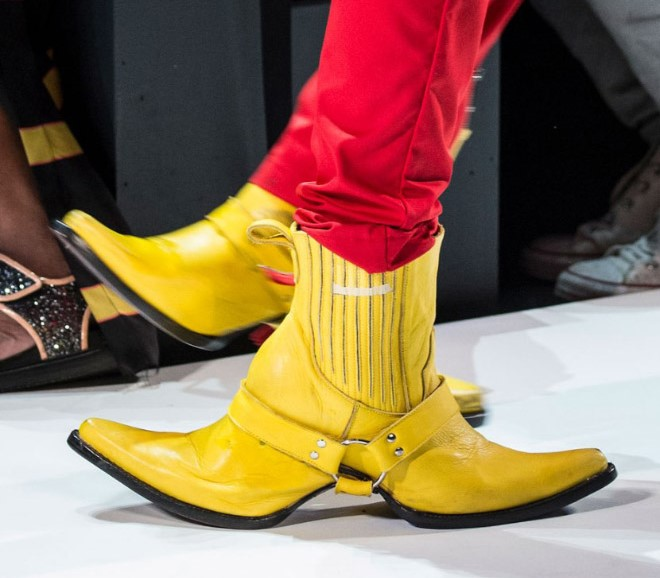 weird boots and shoes