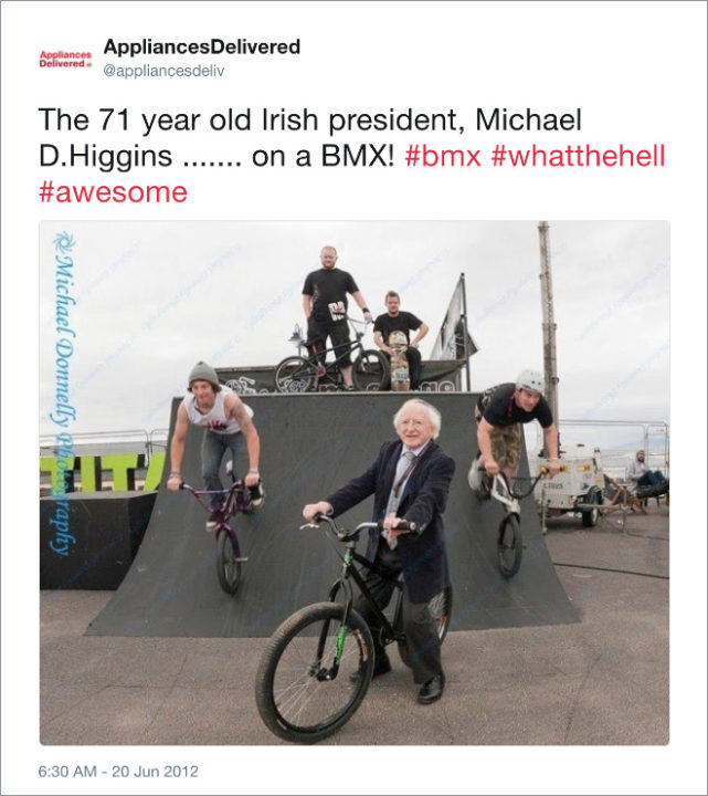 Michael D Higgins funny pictures