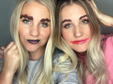 Squiggle Brows and Lips Is The Latest Bizarre Trend On The Internet