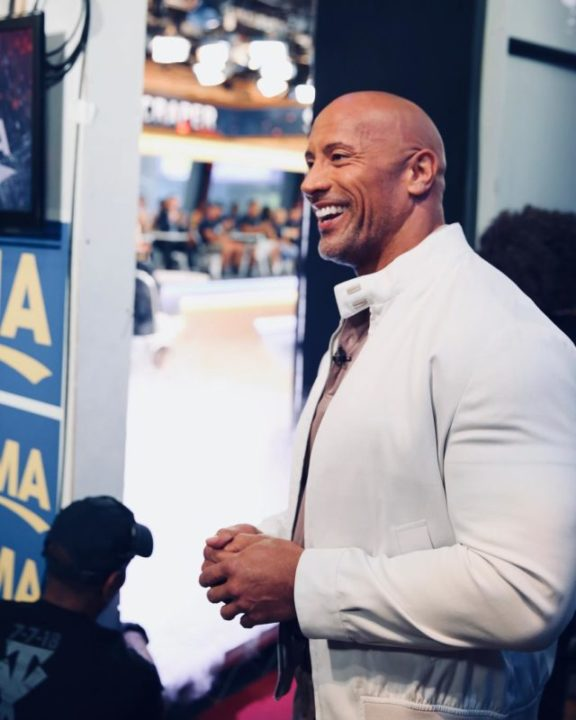 """36160612 278627556035547 7521148219661746176 n - Dwayne Johnson 'The Rock' Surprises His """"Twin"""" Stunt Double With A Heart Warming Gift"""