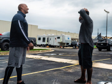 """37202574 615421232184458 2288276502778740736 n e1533183355615 360x270 - Dwayne Johnson 'The Rock' Surprises His """"Twin"""" Stunt Double With A Heart Warming Gift"""