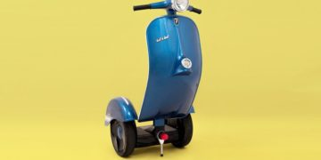 bel bel segway vintage electric scooter revamp designboom 8 818x569 360x180 - Bel & Bel Studio Made A Vespa Inspired Segway-The Z-Scooter Hybrid With Zero Emission