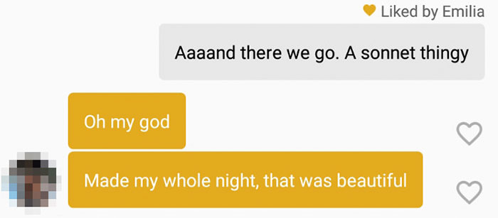 funny tinder chat sonnet 3 - This Guy's Secret Tinder Chat Is Going Viral For Very Fascinating Reasons