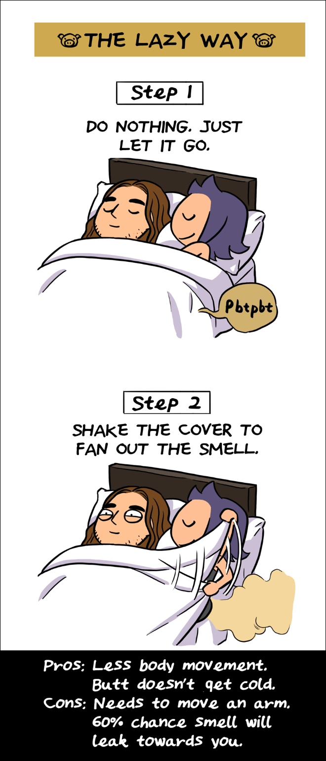 farting guide4 - A Guide On How To Fart When Sharing A Bed With Your Partner