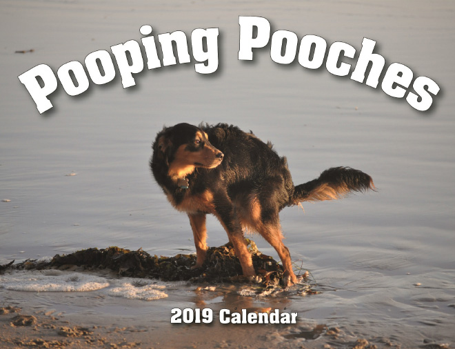Pooping Pooches Dog Calendar