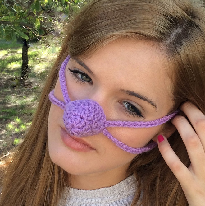 nose warmer13 - Is Your Nose Always Cold? Then Try Nose Warmers To keep Your Nose Warm