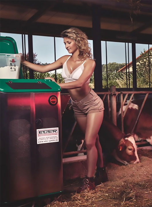12 33 - German Farm Girls Have Stripped Off For A Saucy Comic-Book Themed 'Young Farmers Calendar' 2019