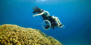 Underwater Wheelchair