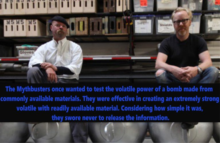 Unaired Episodes Mythbusters