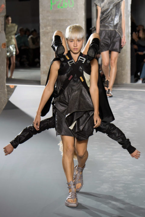 Rick Owens Paris Fashion