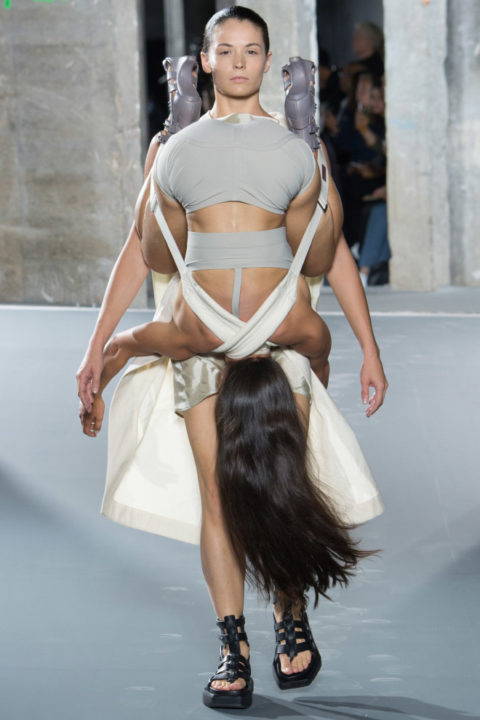 Rick Owens' Paris Fashion