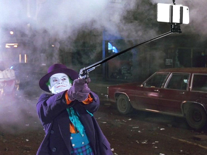 Guns In Movies Replaced With Selfie Sticks