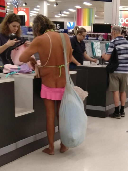 Weird People At The Malls